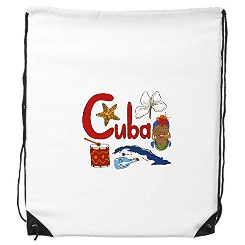 DIYthinker Kuba Nationale Symbol Zeichen-Muster-Rucksack Einkaufssporttaschen Geschenk