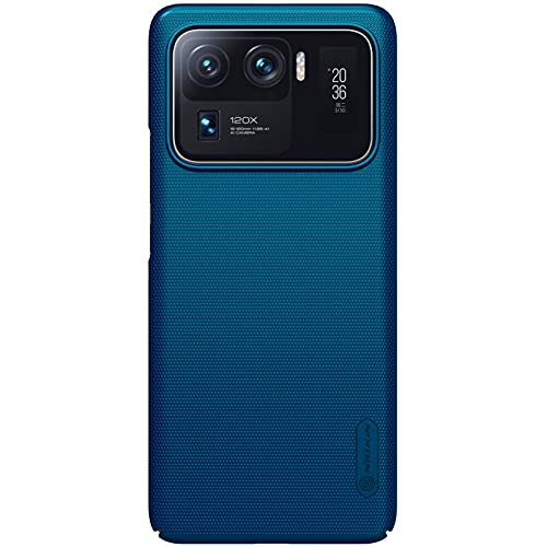 Nillkin Case for Xiaomi Mi 11 Ultra (6.81″ Inch) Super Frosted Hard Back Cover PC Peacock Blue Color