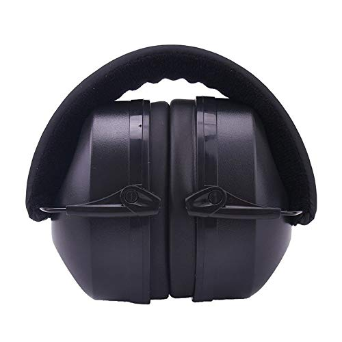 Inklapbaar en comfortabel ruisonderdrukkende oorbeschermers – zweetbestendig gevoerde hoofdband – volledig instelbaar – ultieme gehoorbescherming voor schietsport, jacht, bouwwerk en meer.