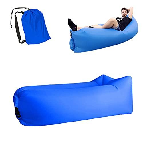 FILWO Luftsack Luftsofa Aufblasbares,Wasserdichtes Aufblasbares Sofa, Luftsofa Luftsack, Tragbares Air Lounger, Luftsack Sitzsack, Luft Couch, Sofa Lufteinlass Outdoor