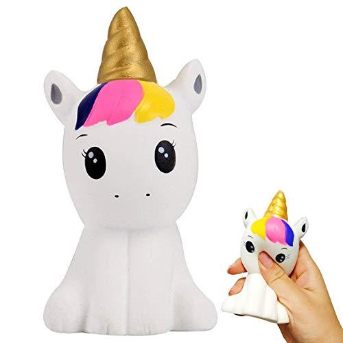 Squishy Einhorn,Anti Stress Spielzeug Für Kinder und Erwachsene