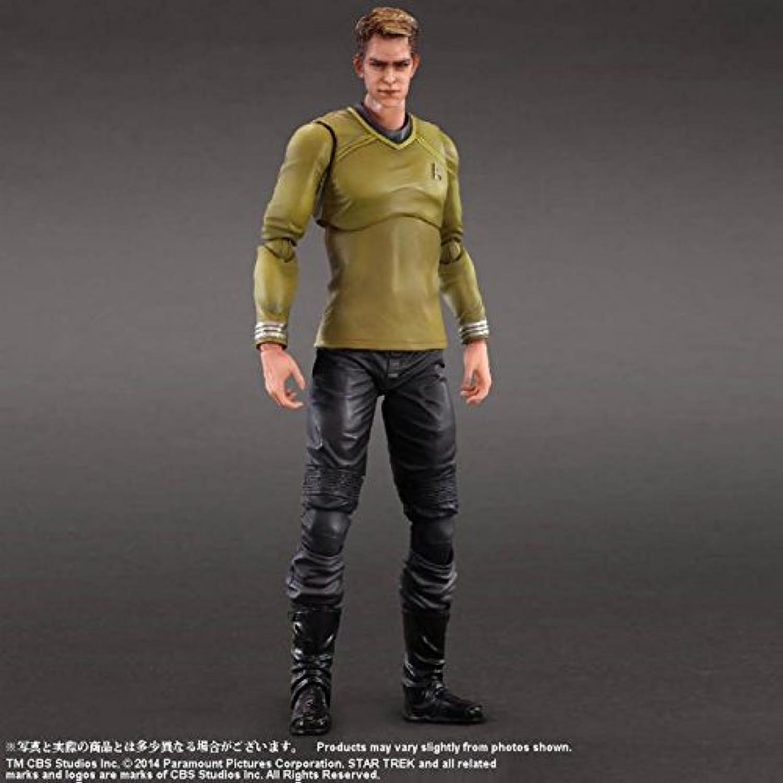 oferta de tienda Square Enix Figura Capitán James T. Kirk 26 cm. cm. cm. Jugar Arts Kai. Estrella Trek  sorteos de estadio