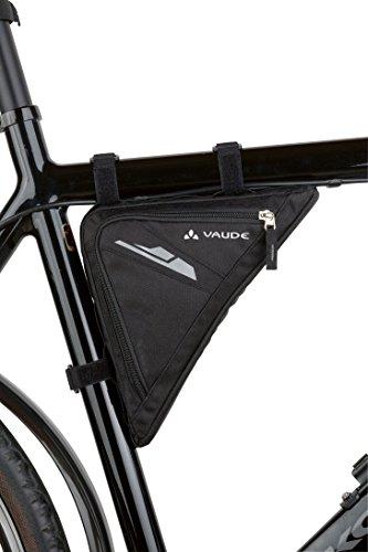 Vaude Triangle Bag Radtasche/Rahmentasche, 23 x 23 x 4 cm, 1,3 Liter
