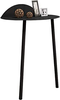 Nightstand Cabinet Nordic Wall Side Table Creative Bedside Table Iron Coffee Table for Bedroom Bathroom Living Room Nursery (