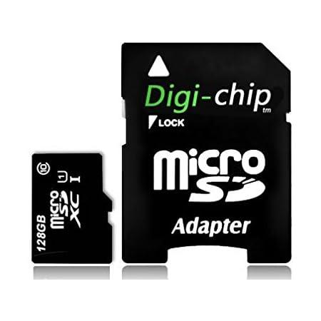 Digi Chip 128 Gb Micro Sd Speicherkarte Uhs 1 High Computer Zubehör
