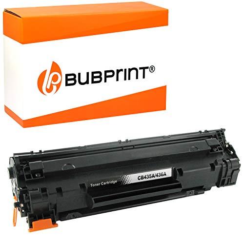 Bubprint Toner kompatibel für HP 35A CB435A für LaserJet P1005 P1006 P1007 P1008 P1009 2.000 Seiten Schwarz