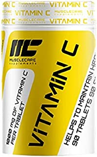 Muscle Care supplements I-NC. Muscle Care Vitamin C 1000 | 90 capsules