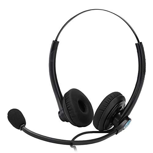 FOLOSAFENAR Balance tonale Optimisation du Son Casque de Longueur réglable Casque Supra-auriculaire Protection auditive Qualité sonore Claire, pour l'opérateur, pour Jouer à des Jeux