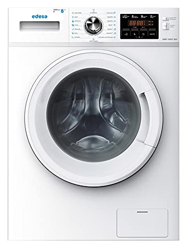 Edesa   Lavadora de carga frontal   Modelo:EWF-1482 WH   Capacidad: 1-8 Kg   16 programas de lavado   Pantalla Led   Clasificación energética B   Color blanco