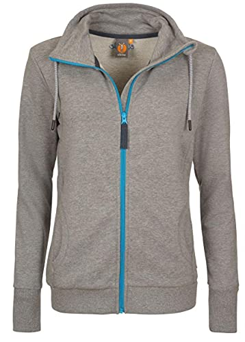 Elkline Galaxie Sweat Jacket Damen Greymelange Größe 40 2018 Funktionsjacke