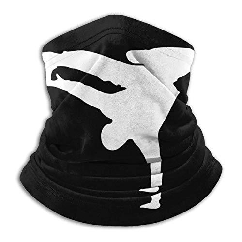 Belongtu Halstuch Gesichtsbedeckung Break Dance Neck Warmer Gaiter Fleece Ski Face Cover for Winter