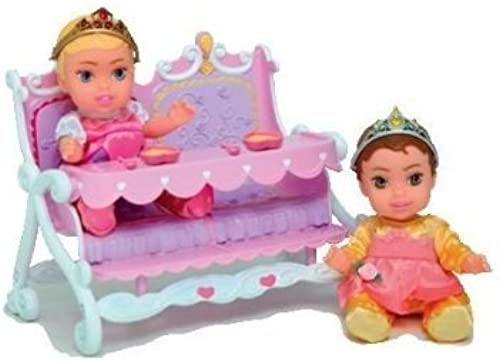 Aurora & Belle My First Disney Princess Little Princess Twinsies Feeding Set by Jakks