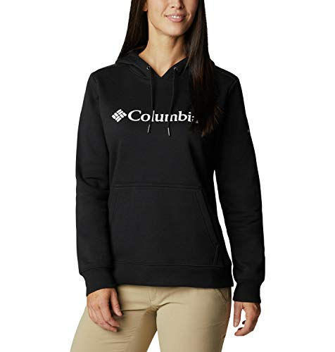Columbia Logo Sudadera con capucha para mujer