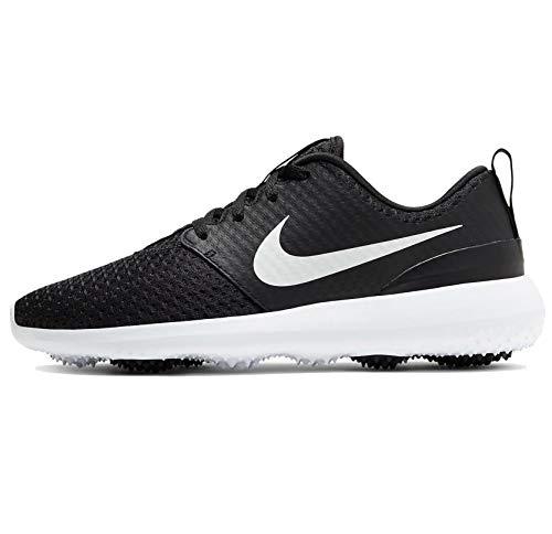 Nike Damen Roshe g Wanderschuh, Black/Metallic White-White, 40 EU