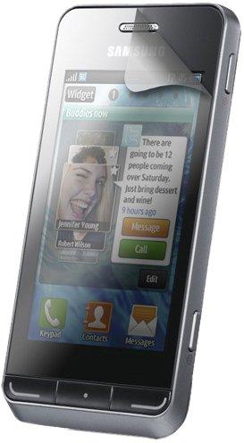 Modelabs Samsung Wave 723 S7230E_Pack de 2 Folien Schutz Leder d'origine Samsung