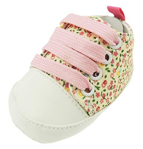 Pretty Baby Girls Été anglais Fleurs de jardin à lacets pour landau Rose 0-3 mois