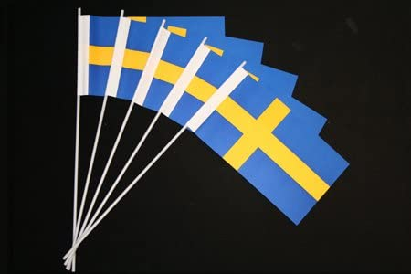 Everflag Papierfähnchen Schweden 50er Packung Küche Haushalt