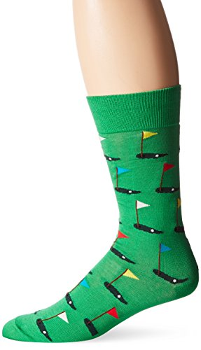 Hot Sox Herren-Socken Gr. L, Golf (Grün)