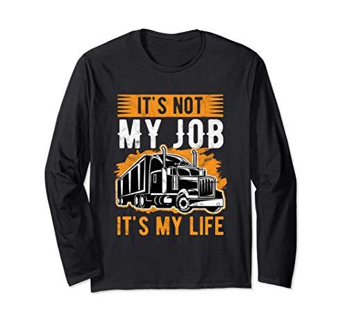 No es mi trabajo, es mi vida. Camionero de regalos. Manga Larga