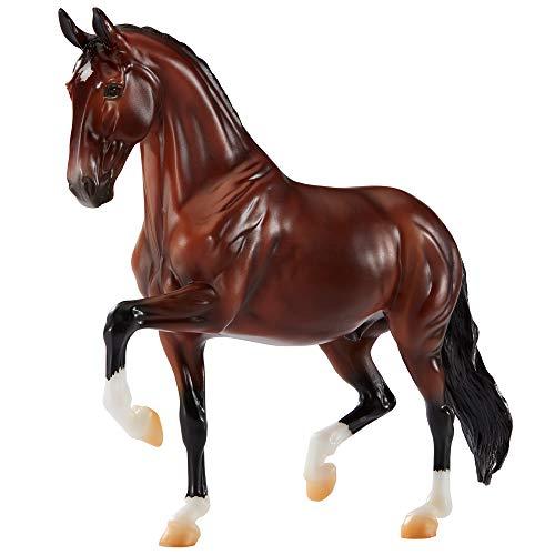 Breyer Traditional Series Verdades Dressage Horse | Horse Toy Model | 1:9 Scale | Model #1802,Brown, Black