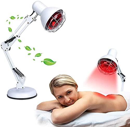 NYCUABT Lámpara de terapia de la lámpara de calor junto a la luz para el alivio antienvejecimiento, alivio del dolor del cuidado de la piel Alivio del dolor del cuerpo del cuerpo del musculo, la luz d