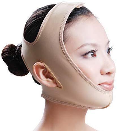Afslankband voor het gezicht, dun gezichtsverband Sleep Pull met ademend V-gezicht Artefactvormend masker Gezichtshefriem (maat: