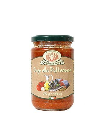 Sugo alla puttanesca, Tomatensauce mit Kapern & Anchovis, 314ml