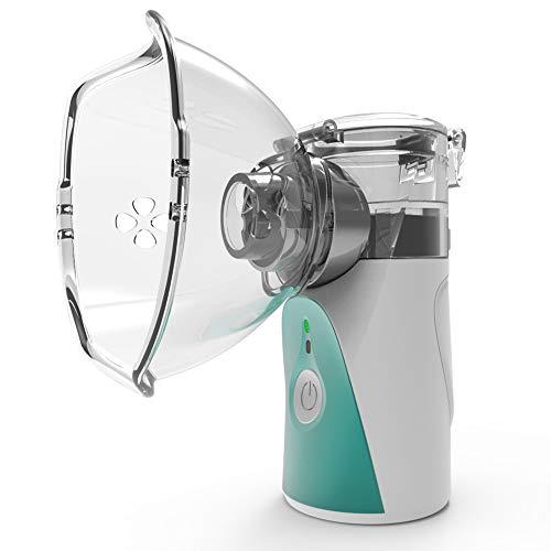 SYGF Nebulizador Portátil Inhalador Eléctrico Silencioso,Ultrasónico Inhalador, para Enfermedades Respiratorias, Asma y Nasal, Es Adecuado para NiñOs Y Adultos O Personas Mayores.