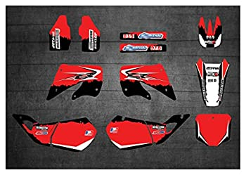 YHYPRESTER XYTZ22132 Customized 3M Motorcycle Decals Stickers Graphics Graphic Decal Kit Compatible with Honda CR250 1997 1998 1999 HNYHY  Color   3