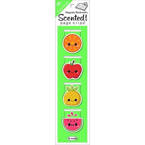Re-marks Scented Magnetic Page Clip Bookmarks, Pack of 4 (43357194)