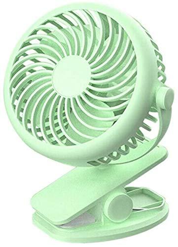 WNTHBJ - Ventilador de escritorio portátil con mini ventilador de silencio portátil