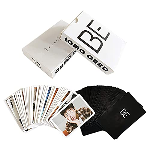 54pcs BE Photocards BANGTAN Boys Merchandise Lomo Cards Photos Gifts for Army Daughter