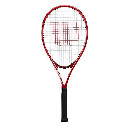 Wilson Raqueta de tenis, Pro Staff Precision XL 110, Jugador de tenis recreativo, Aleación AirLite, Rojo, WR019310U1