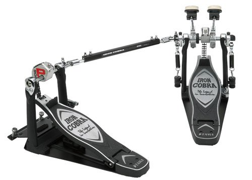 Tama TAMHP900PSWN Iron Cobra Coil Sliding Glide Twin Bass Drum Pedal