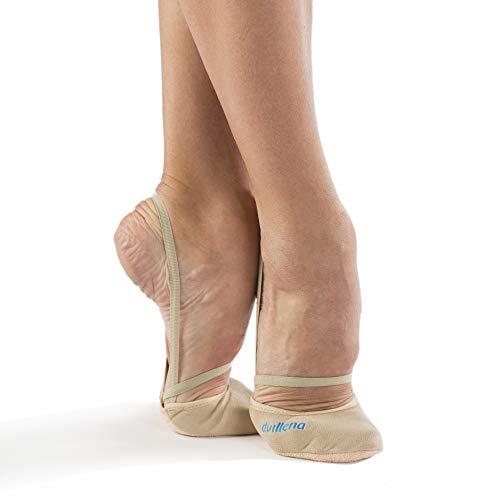 dvillena - Modelo Elite Pekin | Famosa Marca de Punteras de Gimnasia Rítmica Niña y Mujer | Las Puntas Que Usan Grandes Gimnastas Mundiales | Bailarinas Aérobica Deporte Danza Zapatillas Ballet