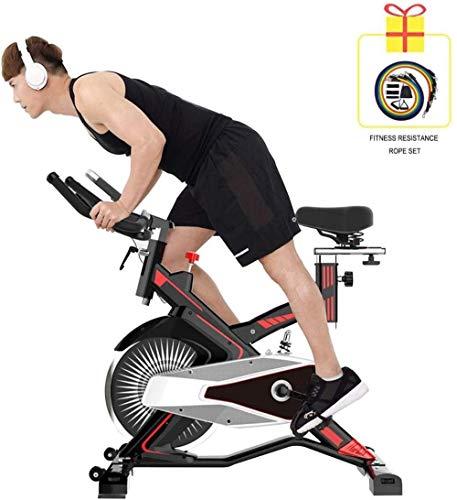 YAYY Indoor Quiet Exercise Bike Sportgeräte mit 150 kg tragendem LCD-Instrument Verbrennen Sie effektiv Fett, um das Sich drehende Fahrrad zu Formen dsfhsfd(Upgrade)