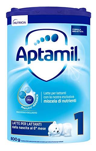 Aptamil 1 Latte in Polvere Formulato Partenza per Neonati - Pacco da 4 Pezzi da 800 g - Totale: 3200 g