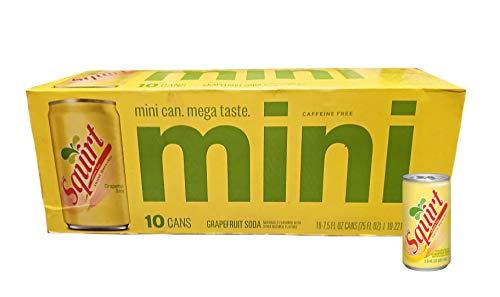 Squirt Original Grapefruit Soda Mini-Cans Soft Drink - 10 Pk (7.5 oz)