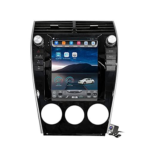 Buladala Android 11 Pantalla Vertical 9.7' Reproductor de automóvil Multimedia Navegación GPS para Mazda 6 2004-2015 Soporte FM Am RDS Autoradio Stéreo/Carplay Android Auto/Dab/SWC/Bluetooth,Ts2