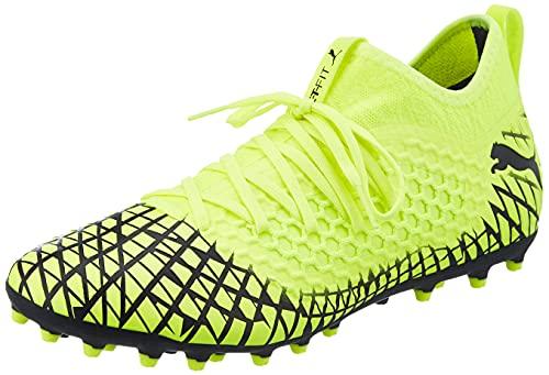 PUMA Future 4.3 Netfit MG Men's Soccer Cleats-Yellow-7