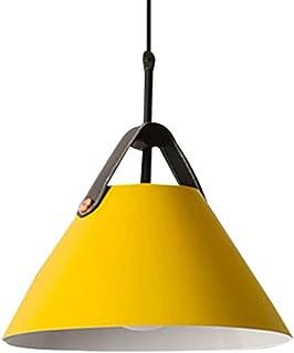 Lustre Suspension Luminaire Moderne LED Nordic - Pendentif Lampe de Plafond Salon Chambre Cuisine Abat-Jour Restaurant Bar...