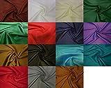 Fabrics-City BORDEAUX HOCHWERTIGER TAFT STOFF TAFTSTOFF