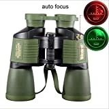 Binoculars, with Coordinate 10x50 Autofocus HD Night Vision Rifle Scope, Daily Waterproof Telescope