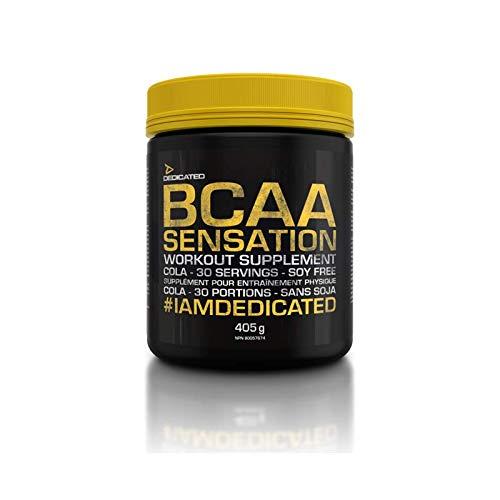 Dedicated Nutrition BCAA Sensation V.2 Supplement, 405 g, Lemon Cola