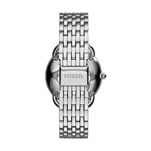 Fossil Women's Tailor Quartz Stainless Steel Multifunction Watch, Color: Silver (Model: ES3712)