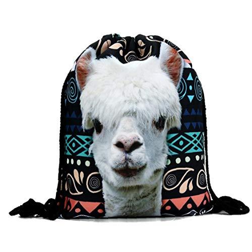 Alpaka-lama-Beutel des Beutel-rucksäcke-Geburtstags-Party Supplies Favor Tasche Für Kinder Jungen Mädchen