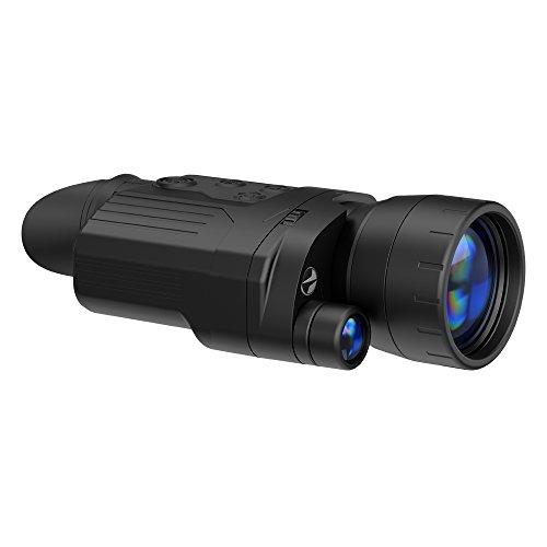 Seiko Pulsar Manual digiforce 860rt Monocular visión Nocturna Unisex, Negro