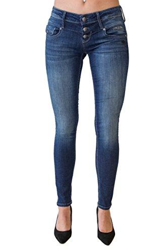 Lost in Paradise Melina (höhere Celina) Superslim Dark Used Jeans Damen Denim (25/32)