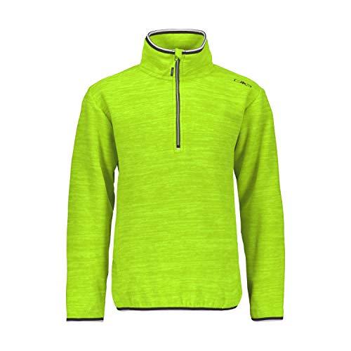 CMP Unisex Kinder Maglia Artic Fleece 39g2364 Pullover, Lime Green Mel, 152