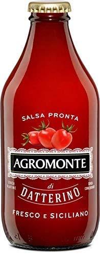 AGROMONTE Conf. 12 di Salsa Pronta di Pomodoro Datterino 330 g